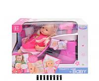Пупс с аксесуарами, парикмахерской набор Warm Baby RT05078-1