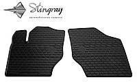 Stingray Модельные автоковрики в салон Peugeot 307  2001- Комплект из 2-х ковриков (Черный)