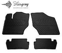 Stingray Модельные автоковрики в салон Peugeot 307  2001- Комплект из 4-х ковриков (Черный)
