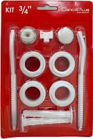"""Комплект для радиаторов с крепление(3/4""""-1"""")SundiPlus"""