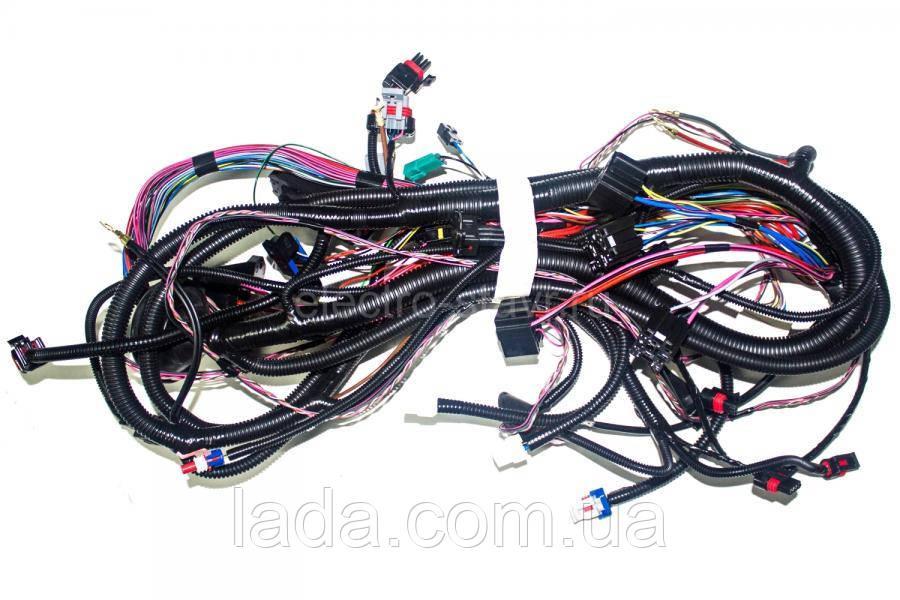 Жгут проводов системы зажигания ВАЗ 21074-3724026-20 ( Е - газ )