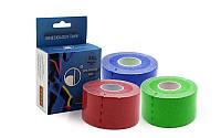 Кинезио тейп (Kinesio tape, KT Tape) эластичный пластырь BC-4863-3,8 (р-р l-5м x 3,8см)