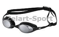 Очки для плавания AR-92354-55 COBRA MIRROR (поликарбонат, TPR, силикон, черные)