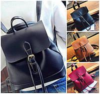 Рюкзак женский сумка из кожзама на шнурке Daily Woman