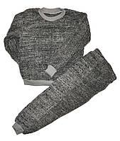 Пижама детская теплая для мальчиков. размеры 5-8 лет