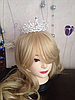Тиара диадема и серьги АРВЕН набор украшений Тиара Виктория свадебная бижутерия аксессуары для волос, фото 9