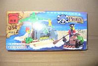 Конструктор пираты Lego (9х19см)