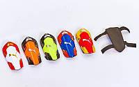 Щитки футбольные PM FB-662-M (пластик, EVA, l-20см, р-р М, цвета в ассортименте)