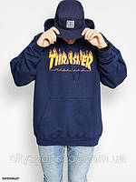 Толстовка Thrasher Flame Logo Худи мужская | Топовая худи