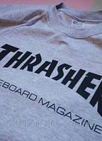 Свитшот женский с принтом THRASHER Skateboard Magazine