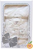 Комплект для новорожденного мальчика из 10-ти шикарных вещей в подарочной коробке