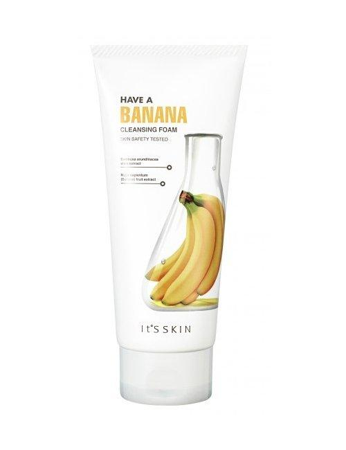 It's Skin Have A Banana Cleasing Foam Банановая пенка для умывания
