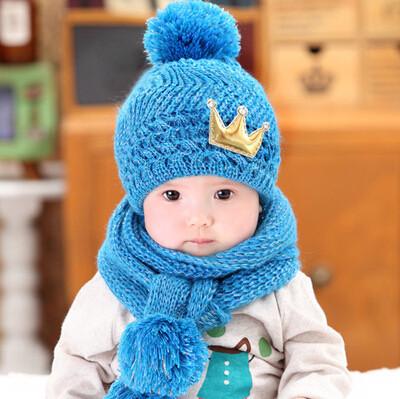 Шапка и шарф корона