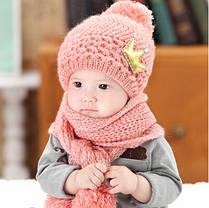 Шапка и шарф корона, фото 3