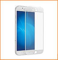 Защитное стекло 3D Full Cover для Samsung A5 (2017) SM-A520 White (Screen Protector 0,3 мм)