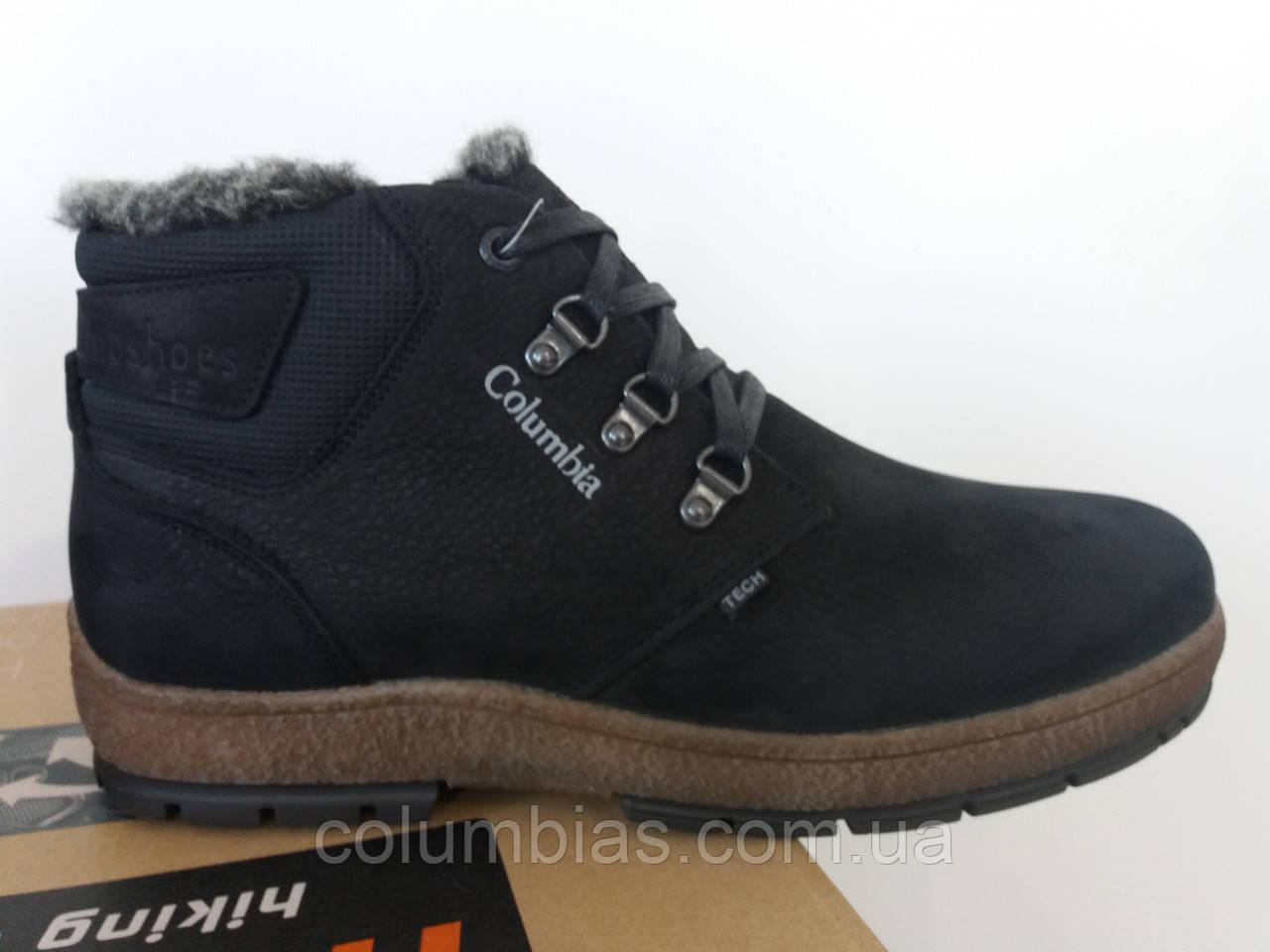 Ботинки Columbiaа кожаные