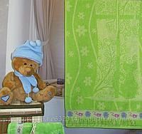 Махровое полотенце Terry Lux Кошки-Мышки 50х90 см