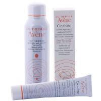 AVENE Cicalfate (Авен Сикальфат) Набор крем антибактериальный 40 мл + вода термальная 50 мл