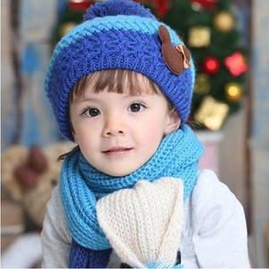 Шапка і шарф міккі, фото 2