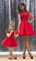 Красивые платья мать и дочь