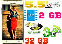 Крутой смартфон Samsung J7, 8 core, 2Gb RAM, IPS, 2 sim, 3G, GPS