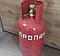 Безопасный баллон бытовой газовый металлический, фото 5