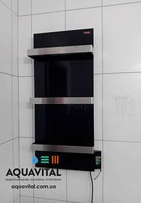 керамический полотенцесушитель Dimol Standart 07 tr черный