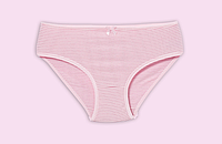 Розовые трусики в полосочку на девочку