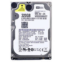 "Жесткий диск 2.5"" 320Gb Western Digital AV-25, SATA2, 16Mb, 5400 rpm (WD3200BUCT)"