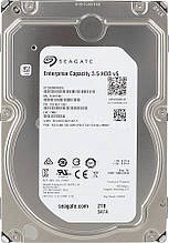 Жесткий диск 2 Тб Seagate Enterprise, SATA 3, 128Mb, 7200 rpm (ST2000NM0055),винчестер 2 Tb