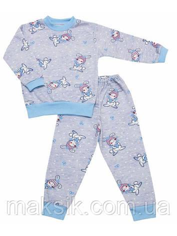 Пижама для мальчика с начёсом р.122см, фото 2