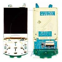 Дисплей (экран) для телефона Samsung E1360 с платой