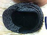 Кепка мужская рябая из драпа воьмиклинка  59-60 разм, фото 4