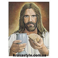 Алмазная вышивка Исус Христос