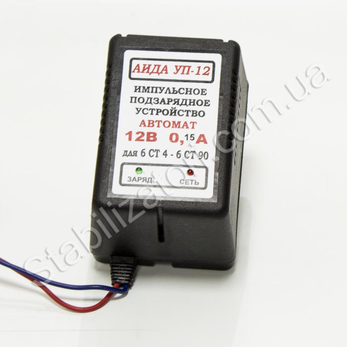 АИДА УП-12 ток заряда 0,15 А импульсное зарядное с минимальным током заряда