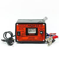 АИДА-11 с перекл гел/кисл - Зарядное для гелевых, мультигелевых, AGM, кислотных, аккумуляторов