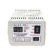 АИДА-10si - автомобильное зарядное, цифровая индикация, заряжает гелевые акб, фото 2
