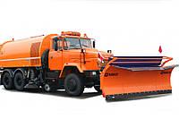 Аренда комбинированной дорожной машины КрАЗ 65032