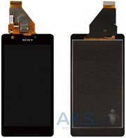 Дисплей (экран) для телефона Sony Xperia ZR M36h C5502, Xperia ZR M36i C5503 + Touchscreen Black