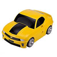 Чемодан детский ТМ Hauptstadtkoffer Kinder Car желтый