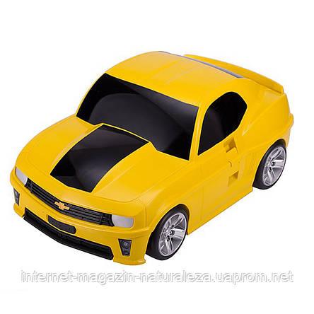 Чемодан детский Hauptstadtkoffer Kinder Car желтый, фото 2