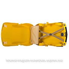 Чемодан детский Hauptstadtkoffer Kinder Car желтый, фото 3