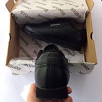 Женские кроссовки в стиле Reebok Princess All Black (36 размер), фото 3