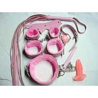 Сексапильный комплект розовый