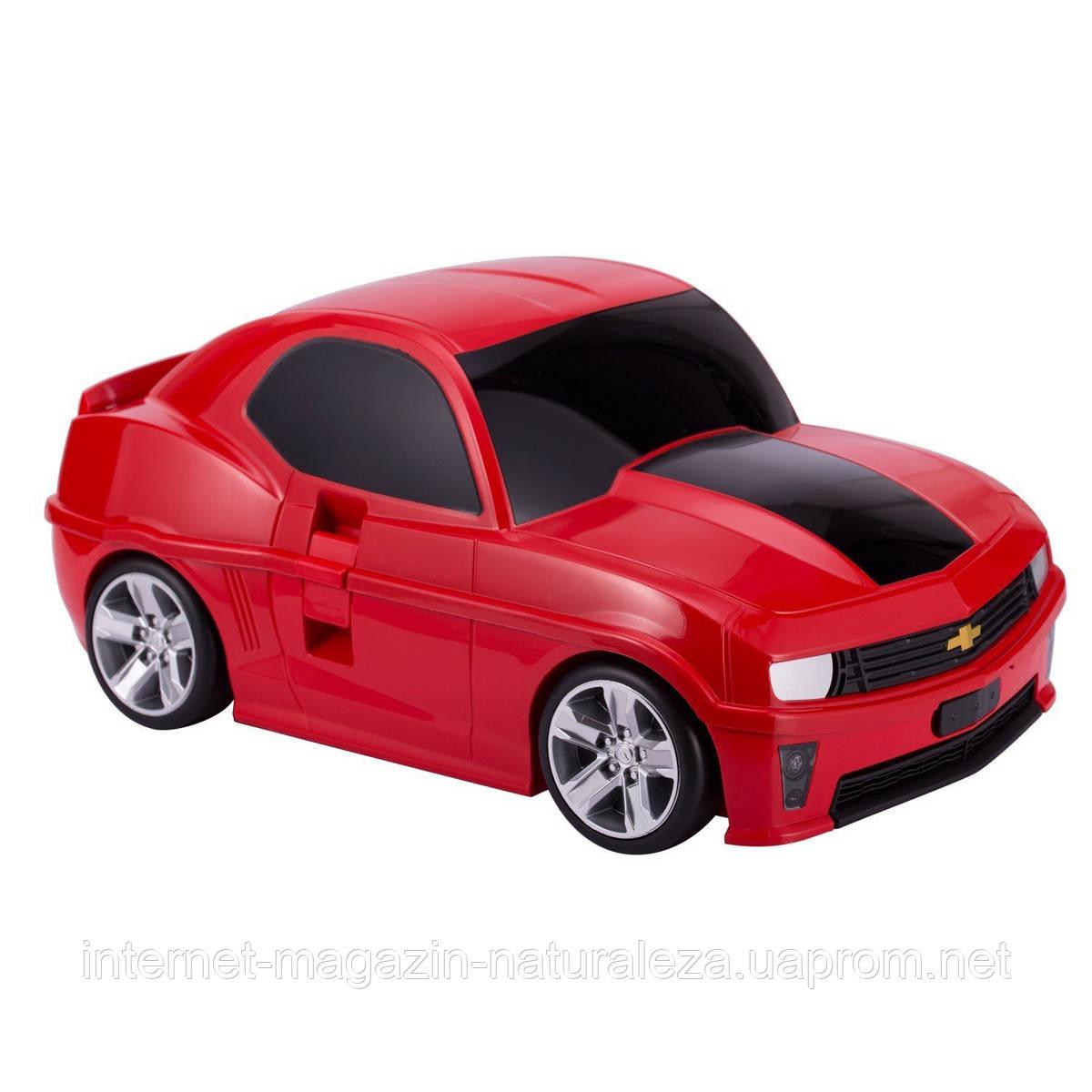 Детские чемоданы Hauptstadtkoffer Kinder Car красный