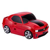 Чемодан детский ТМ Hauptstadtkoffer Kinder Car красный