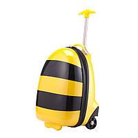 Детский чемодан Hauptstadtkoffer Kinder Biene желтый