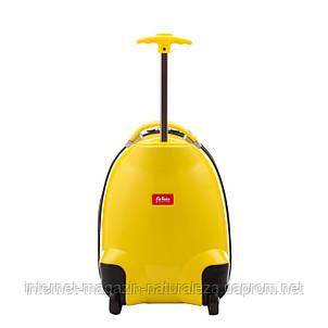 Детский чемодан Hauptstadtkoffer Kinder Biene желтый, фото 2