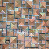 Листовые панели Мазаика Сахара золото