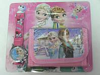 Набор часы и кошелек Frozen